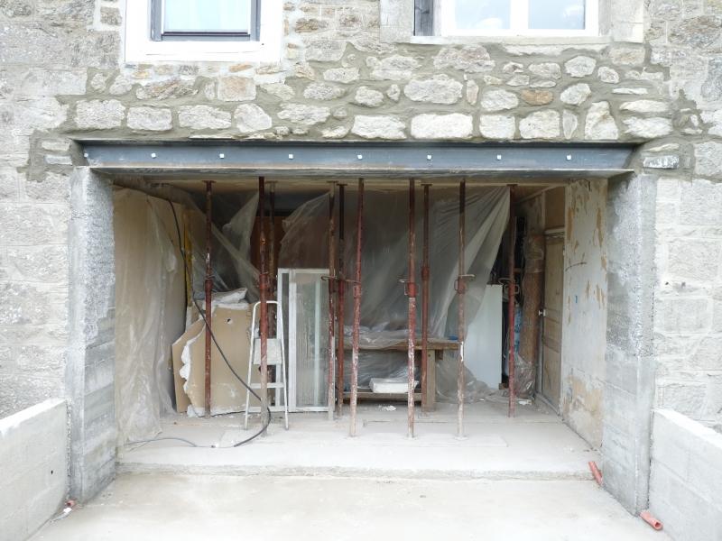 Sciage mur en pierre for Cout ipn mur porteur